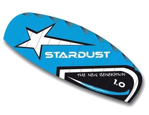 Rhombus matrasvlieger Stardust 1.0 blauw 100 x 45 cm