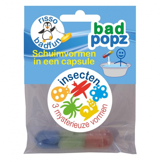 Risso Schuimvormen in capsule insecten 3 delig