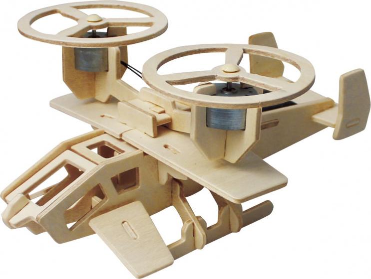 Robotime 3D modelbouw Samson P350 19 x 16,5 cm hout 30 delig