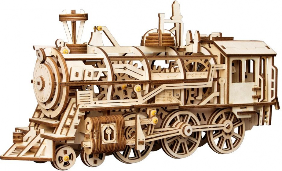 Robotime Locomotief LK701 modelbouw