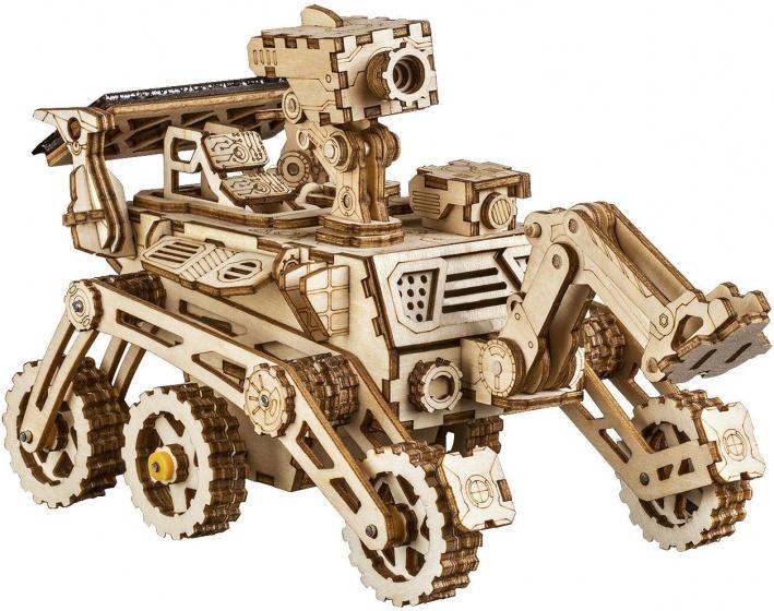 Robotime model Curiosity rover met zonnecel 17,5 x 8,5 cm