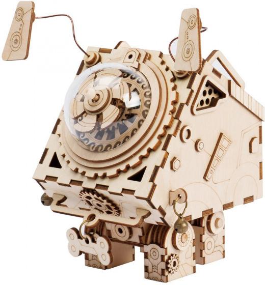 Robotime modelbouw Seymour AM480 hout 14,6 cm blank