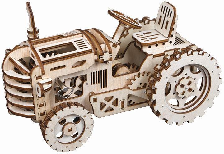 Robotime modelbouwset Tractor LK401 hout 135 delig