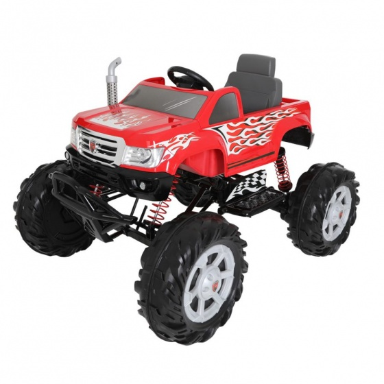 Rollplay accuvoertuig Monster Truck 24V rood