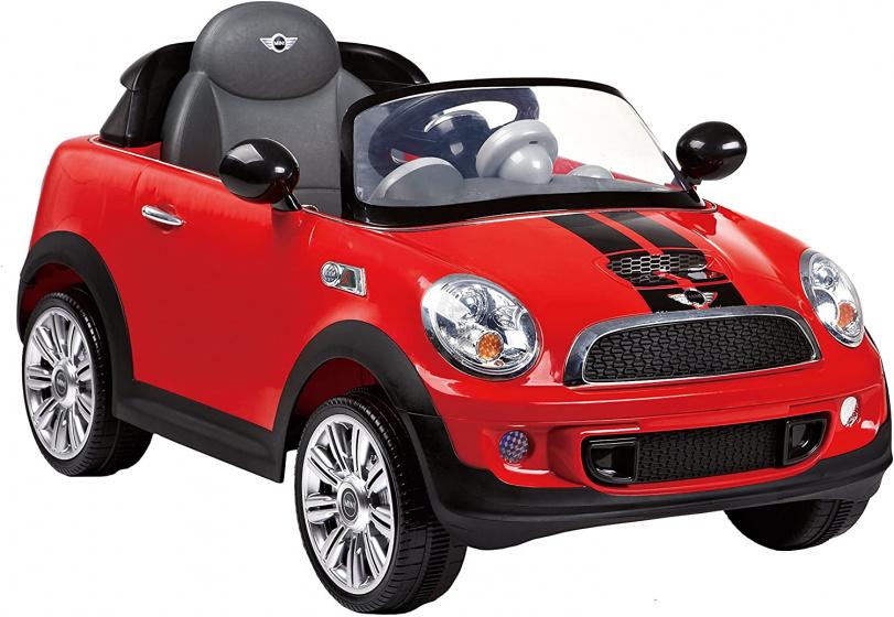 Rollplay Mini Cooper S Coupe accuvoertuig 12 Volt rood
