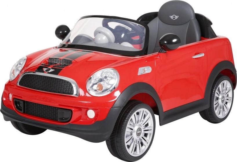 Rollplay mini cooper s coupe accuvoertuig 6 volt rood 223829