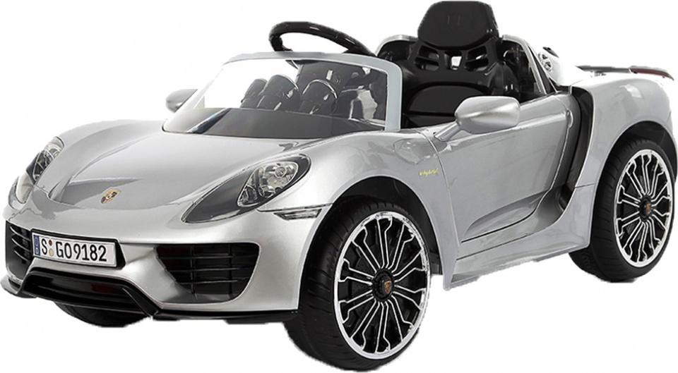 Rollplay Porsche 918 Spider accuvoertuig 12 Volt zilver