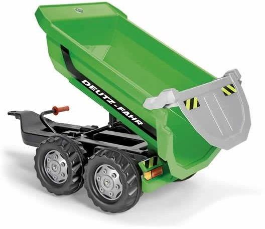 Rolly Toys aanhanger RollyHalfpipe Deutz Fahr junior groen