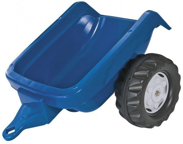 Rolly Kid Tractor aanhanger blauw