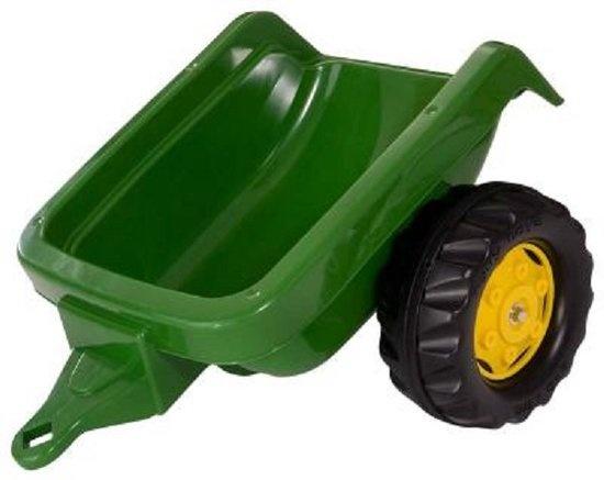 Rolly Kid Tractor aanhanger John Deere groen