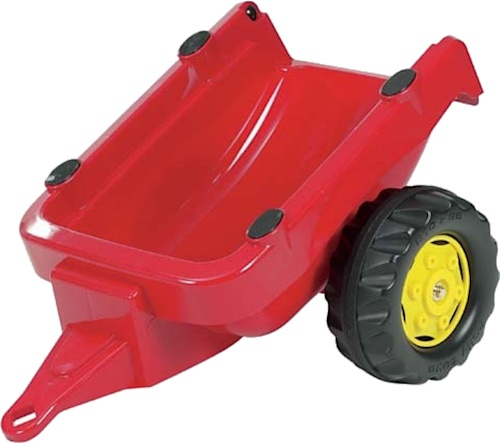 Rolly Toys RollyKid Trailer Aanhanger Rood