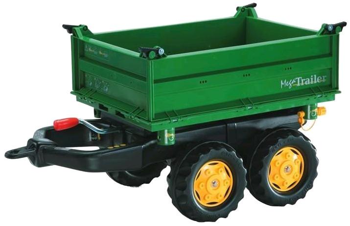 Aanhanger Rolly Toys Megatrailer Groen