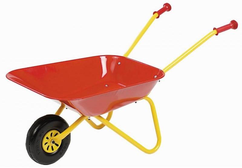 Rolly Toys 270804 Metalen Kruiwagen Rood
