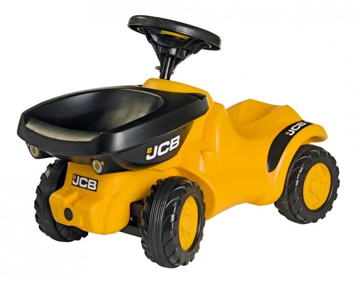 Rolly Toys looptractor RollyMinitrac JBC Dumper junior geel