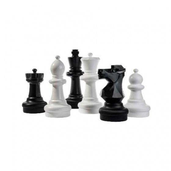 Kleine buiten schaakstukken