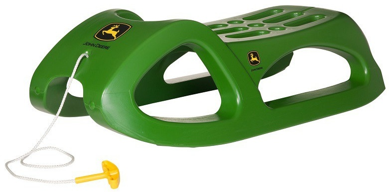 Rolly Schlitten Snow Cruiser John Deere Junior-grün