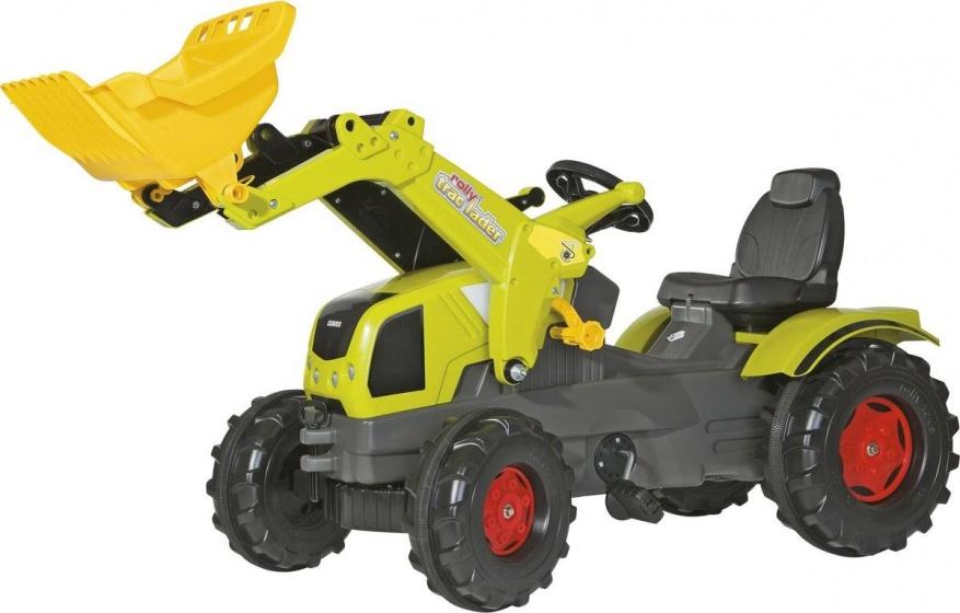 Rolly Toys traptractor RollyFarmtrac Claas Axos 340 junior groen/grijs