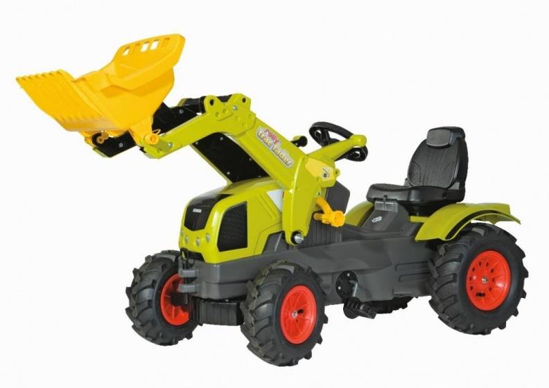Rolly Toys traptractor RollyFarmtrac Claas Axos 340 LB groen