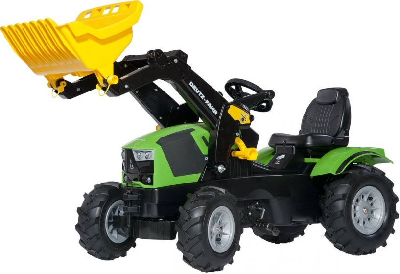 Rolly Toys 611218 RollyFarmtrac Deutz-Fahr 5120 Tractor met Lader en Luchtbanden