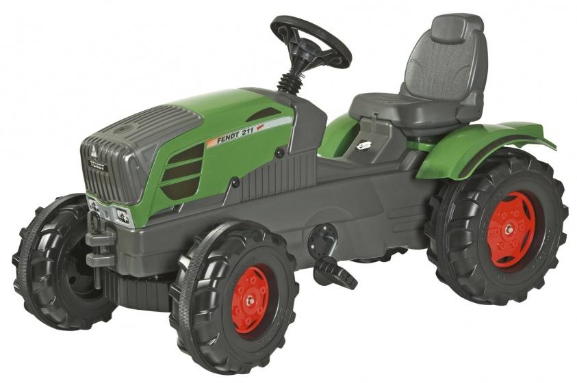 Rolly Toys traptractor RollyFarmtrac Fendt 211 junior groen/grijs
