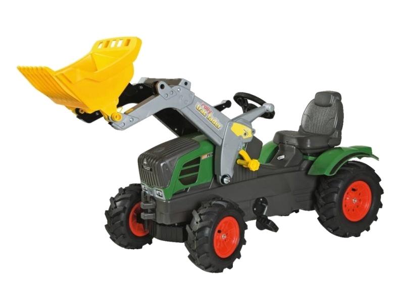 Rolly Toys 611089 RollyFarmtrac Fendt 211 Vario Tractor met Lader en Luchtbanden