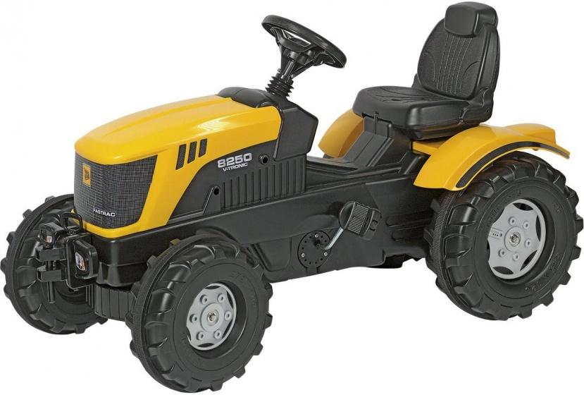 Rolly Toys traptractor RollyFarmtrac JCB 8250 junior geel/zwart