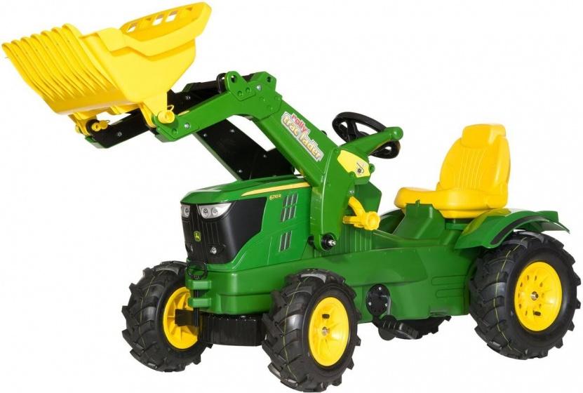 Rolly Toys 611102 RollyFarmtrac John Deere 6210R Tractor met Lader