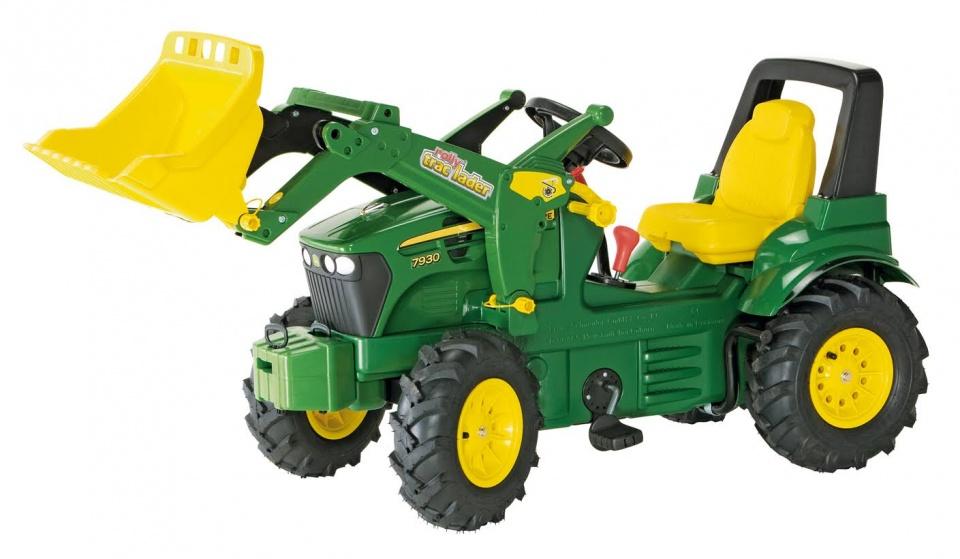 Rolly Toys 710126 RollyFarmtrac John Deere 7930 Tractor met Lader en Luchtbanden