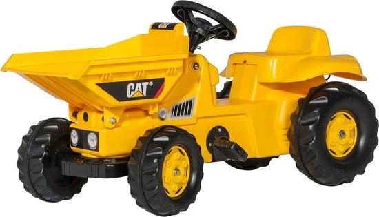 Rolly Toys 024179 RollyDumperKid CAT Tractor met Kiepbak