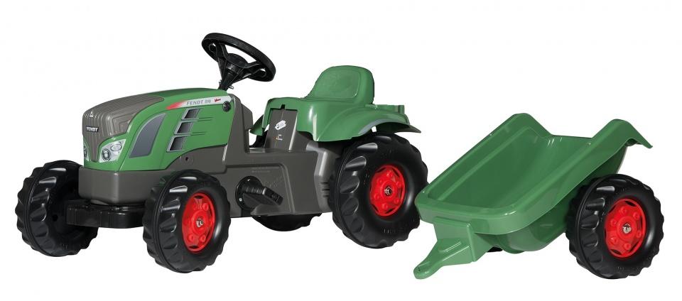 Rolly Toys traptractor RollyKid Fendt 516 Vario junior groen/grijs
