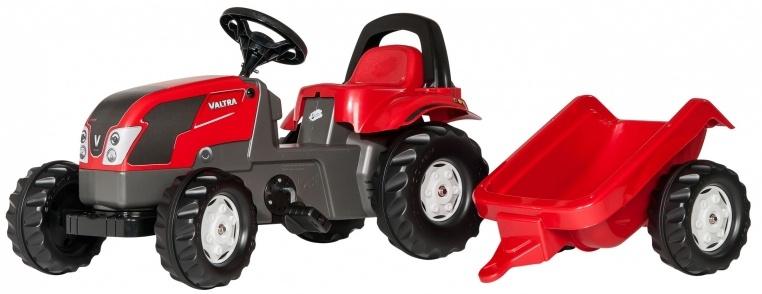 Rolly Toys 012527 RollyKid Valtra Tractor met Aanhanger