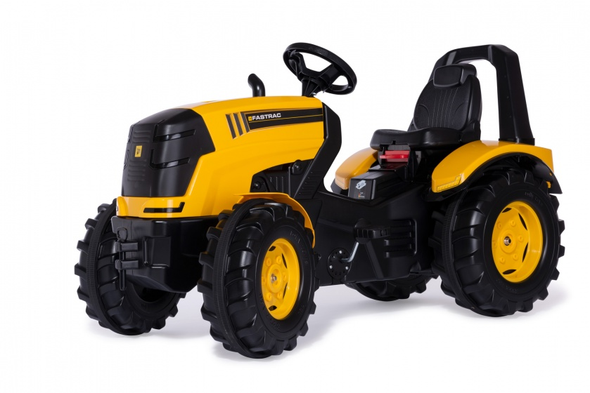Rolly Toys traptractor RollyX Trac Premium JCB 119 cm geel/zwart