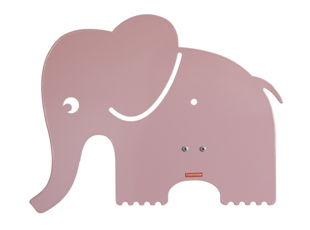 Roommate Elephant Lamp Rose (210432)