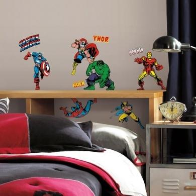 RoomMates muursticker Avengers 32 stickers