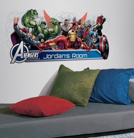 RoomMates muursticker Avengers 42,5 x 99 cm