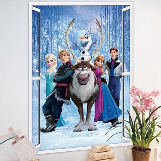 RoomMates muursticker Frozen: winter burst 48 x 68 cm