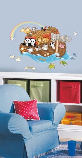 RoomMates muursticker Noahs ark 61,7 x 88,9 cm