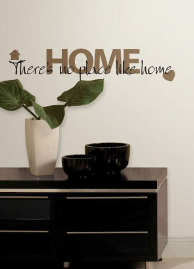 RoomMates muursticker no place like home 12 stickers