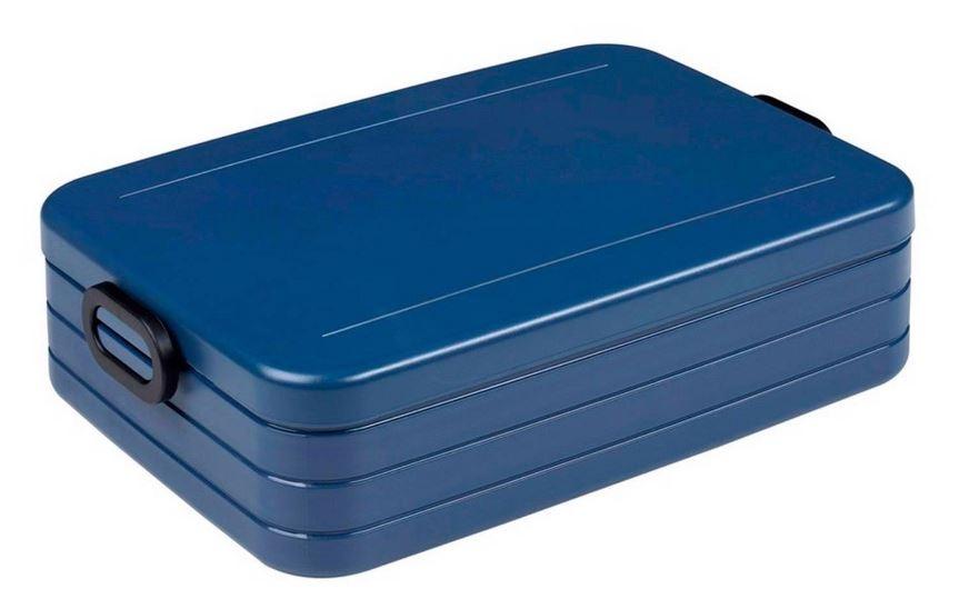 Rosti Mepal lunchbox Bento Large 17 x 25,5 x 6,5 cm donkerblauw