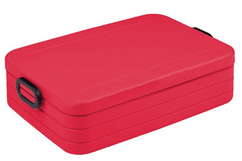 Rosti Mepal lunchbox Bento Large 17 x 25,5 x 6,5 cm rood