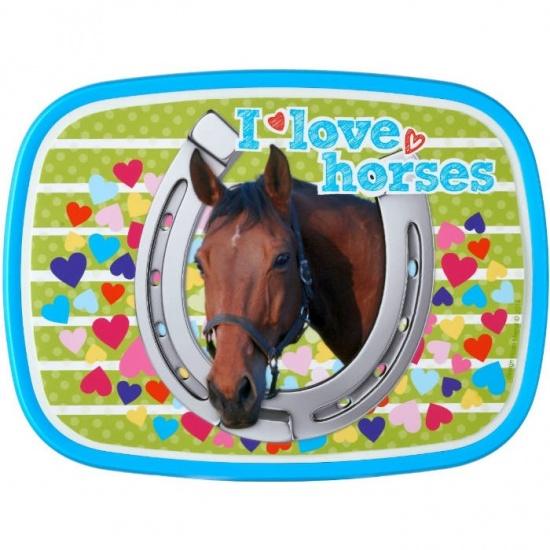 Rosti Mepal Lunchbox I Love Horses 2