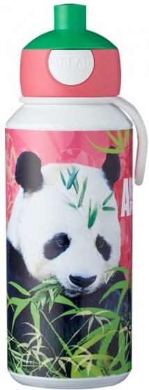 Mepal Drinkfles pop-up panda 400ml