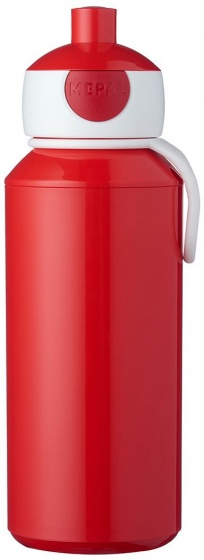 Rosti Mepal pop updrinkfles Campus 400 ml rood