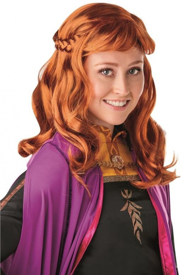 wig Anna Frozen 2 ladies orange/red