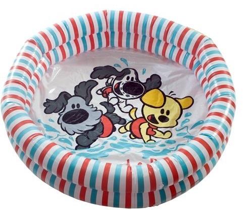 Rubotoys Babybadje Woezel en Pip 80 x 15 cm multicolor