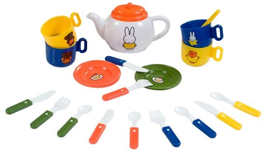 Rubo Toys Nijntje theeservies kunststof 21 delig