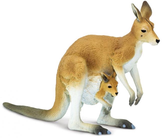 Safari speeldier kangoeroe junior 11,9 cm bruin kopen