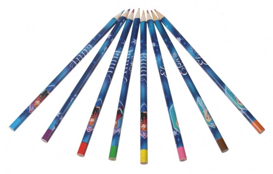 Sambro Frozen kleurset junior 8 stuks