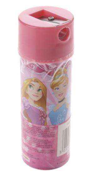 Sambro kleurpotloden in koker Princess 12 stuks 11 cm roze