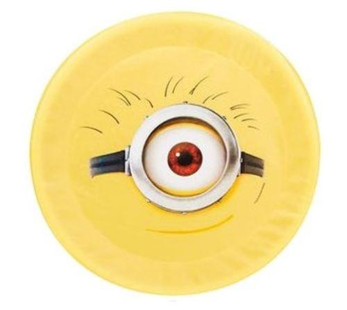 Sambro Minions frisbee Carl foam geel 42 cm